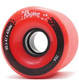 Rayne Rayne- Envy- 62mm- 80a- Red with Red Core- Wheel