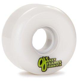 OJ OJ- Plain Jane- Keyframe- 54mm- 87a- White- Wheels