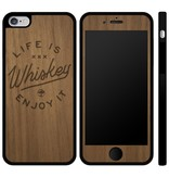 Arbor Arbor- IPhone Case- Arbor Life is Whiskey- IPhone 6 Plus- Walnut