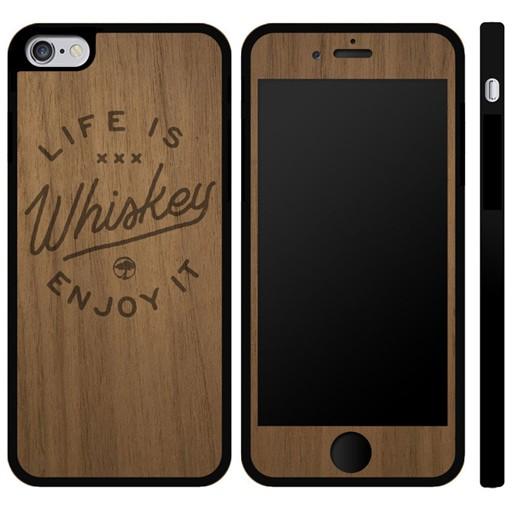 Arbor Arbor- IPhone Case- Arbor Life is Whiskey- IPhone 6 Plus- Walnut