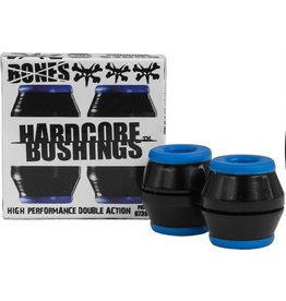 Bones Bones- Bushings- Hardcore- Black/Blue- Soft