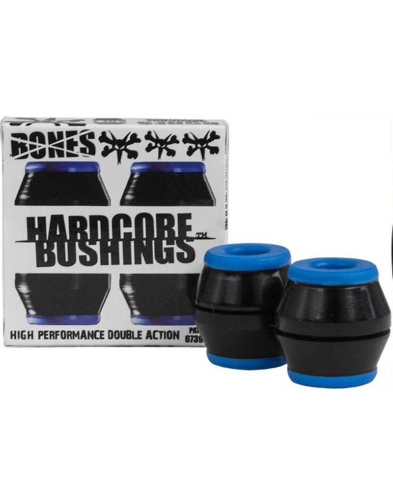 Bones Bones- Bushings- Hardcore- Black/Blue- Soft