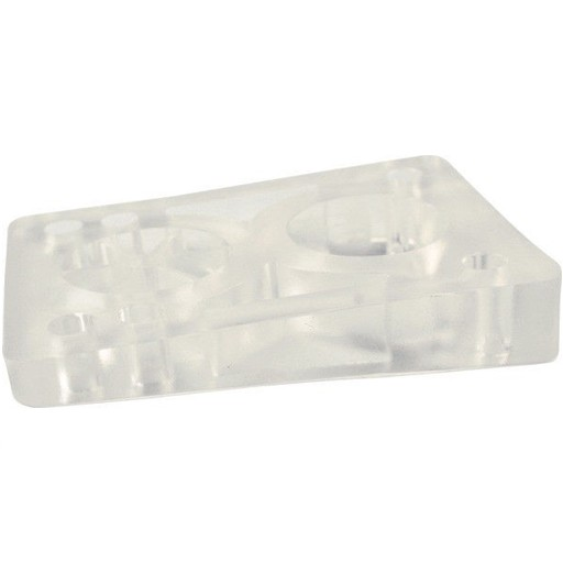 BOARDLife BOARDLife- Angled Wedge- Clear- 1/2 inch- Set of 2- Riser