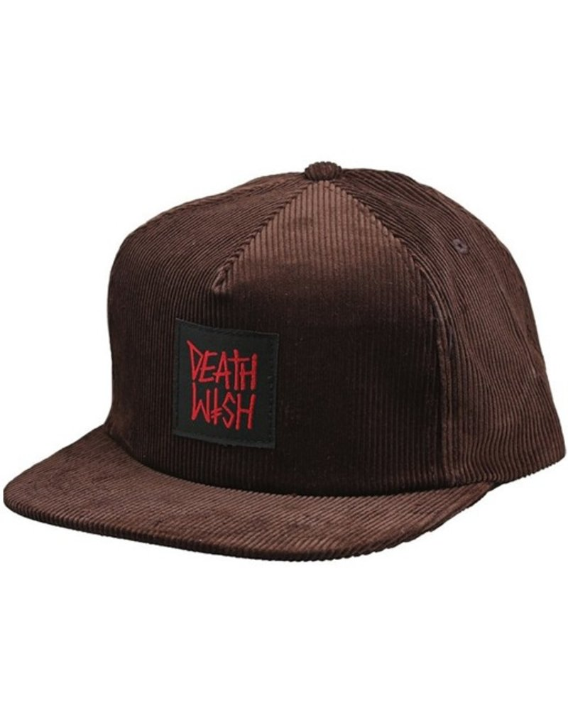 Death Wish- Death Row- Adjustable- Hat- Brown
