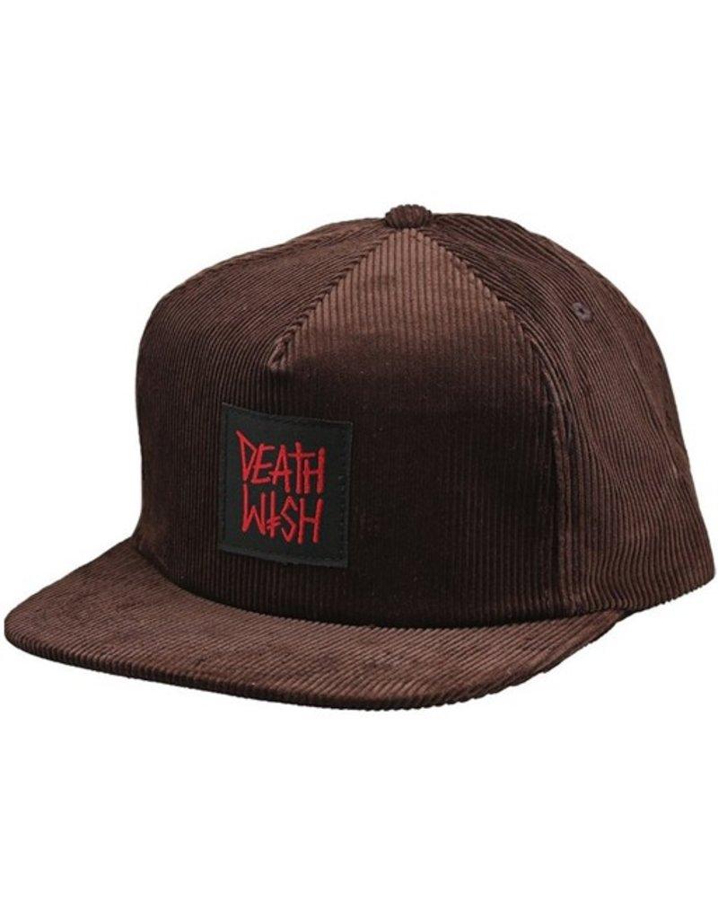 Death Wish- Death Row- Adjustable- Hat- Brown