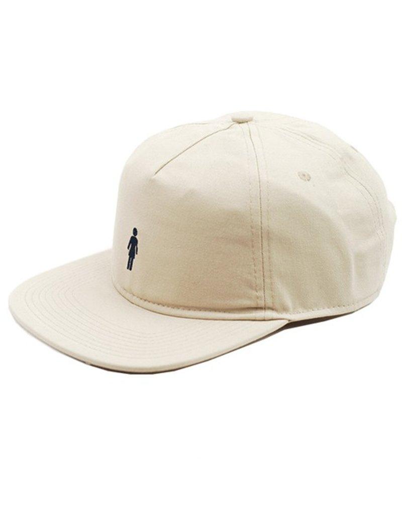 Girl Girl- OG- Micro- Strapback- Hat- Khaki