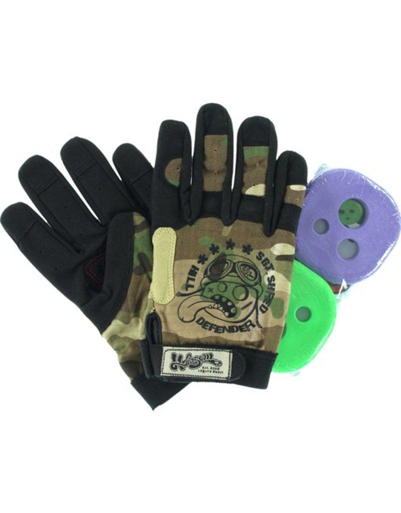 Holesom Holesom- Sgt Shred- Ripstop/Suede- Camo- Slide Gloves