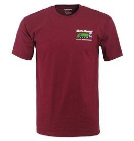 Skate Mental Skate Mental- Waste Management- Burgundy- T-Shirt