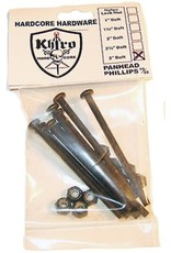 Khiro Khiro- Panhead Hardware- 3 inch- Phillips Head