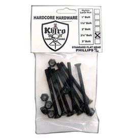 Khiro Khiro- Flat Head Hardware- 2 1/2 inch- Phillips Head