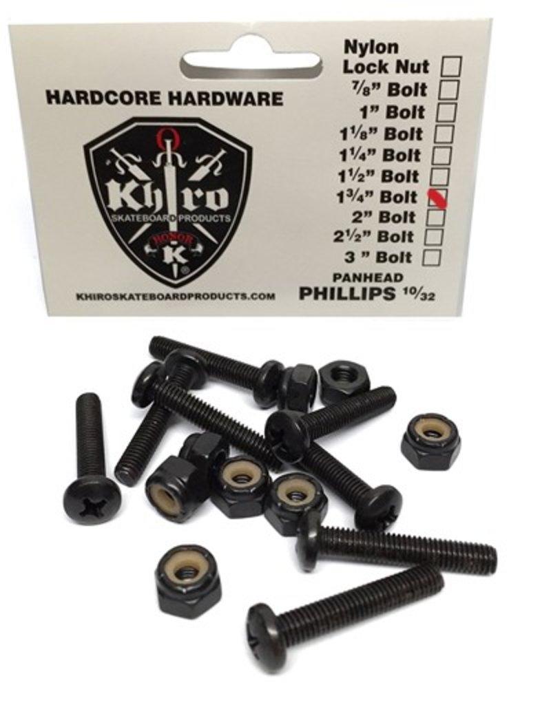 Khiro Khiro- Panhead Hardware- 1.75 inch- Phillips Head