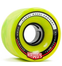 Landyachtz Landyachtz- Chubby Hawgs- Stone Ground- 60mm- 78a- Green- Wheels