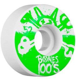 Bones Bones- Original Formula- 52mm- 100a- White with Green- Wheels