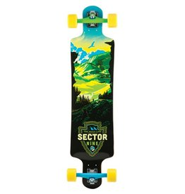Sector 9 Sector 9- Faultline- 39.5 inch- Green- Complete