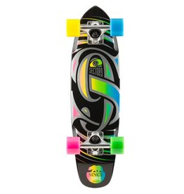 Sector 9 Sector 9- Steady- Black- Glow- 25.6 inch- 2017- Complete