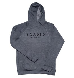 Loaded Loaded- Shadow Font- Pullover Hoody- Midnight Heather