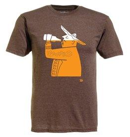 Ames Bros Ames Bros- Cerveza- Light Brown Heather- T-Shirt