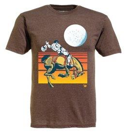 Ames Bros Ames Bros- Space Cowboy- Light Brown Heather- T-Shirt