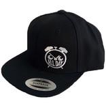 All Day Allday- Logo Snapback- White- Hats