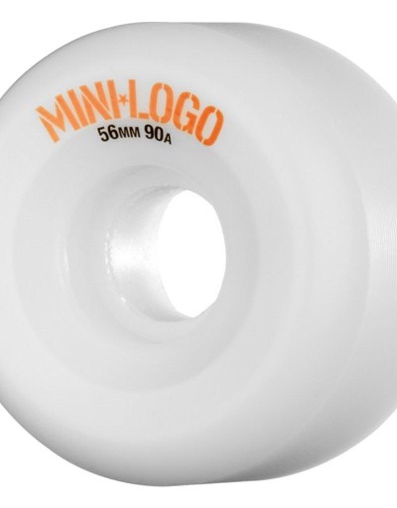 Mini Logo Mini Logo- C Cut- 54mm- 101a- White- Wheels