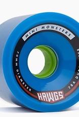 Landyachtz Landyachtz- Mini Monster Hawgs- 70mm- 78a- Blue- 2017- Wheel