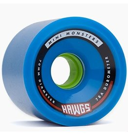 Landyachtz Landyachtz- Mini Monster Hawgs- 70mm- 78a- Blue- 2017- Wheel