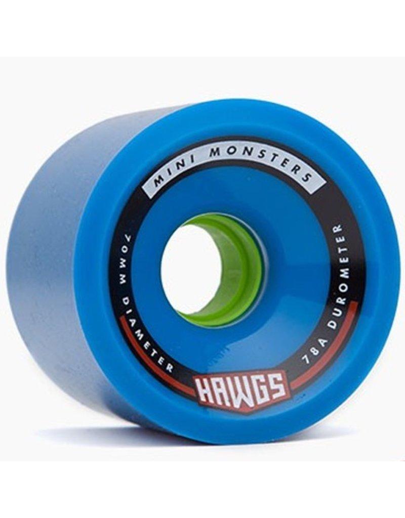 Landyachtz Landyachtz- Mini Monster Hawgs- 70mm- 78a- Blue- 2014- Wheel
