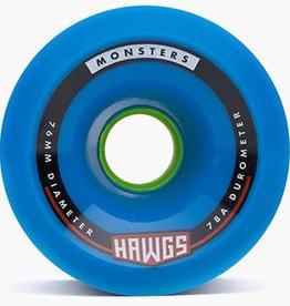 Landyachtz Landyachtz- Monster Hawgs- 76mm- 78a- Blue- 2017- Wheel