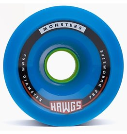 Landyachtz Landyachtz- Monster Hawgs- 76mm- 78a- Blue- 2017- Wheel