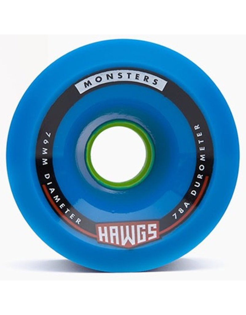 Landyachtz andyachtz- Monsters Hawgs- 76mm- 78a- Blue- 2014- Wheel