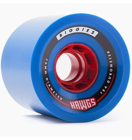 Landyachtz Landyachtz- Biggie Hawgs- 73mm- 78a- Blue- 2017- Wheels