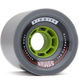 Landyachtz Landyachtz- Biggie Hawgs- 70mm- 76a- Grey- 2017- Wheels