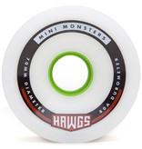Landyachtz Landyachtz- Mini Monster Hawgs- 70mm- 80a- White- 2014- Wheel