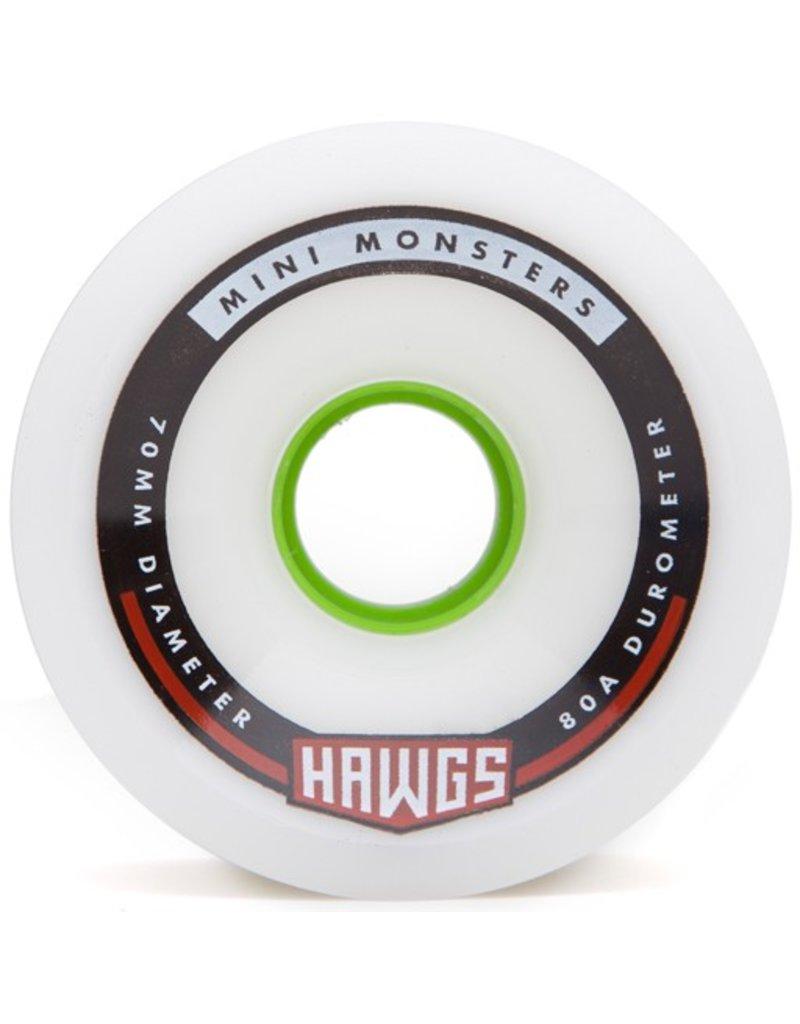 Landyachtz Landyachtz- Mini Monster Hawgs- 70mm- 80a- White- 2017- Wheel