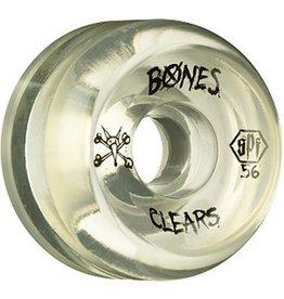 Bones Bones- Skatepark Formula- 56mm- Clear Natural- Wheels