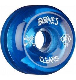 Bones Bones- Skatepark Formula- 54mm- Clear Blue- Wheels