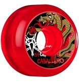 Bones Bones- Caballero Dragon- SPF- 54mm- Clear Red- Wheels