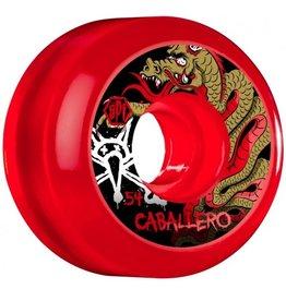 Bones Bones- Caballero Dragon- SPF- 54mm- Clear Red- Wheels