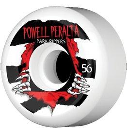 Powell Peralta Powell Peralta- Park Ripper- 56mm- Park Formula- WHT/BLK- Wheels