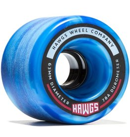 Landyachtz Landyachtz- Fattie Hawgs- Stone Ground- 63mm- 78a- Blue- 2017- Wheels