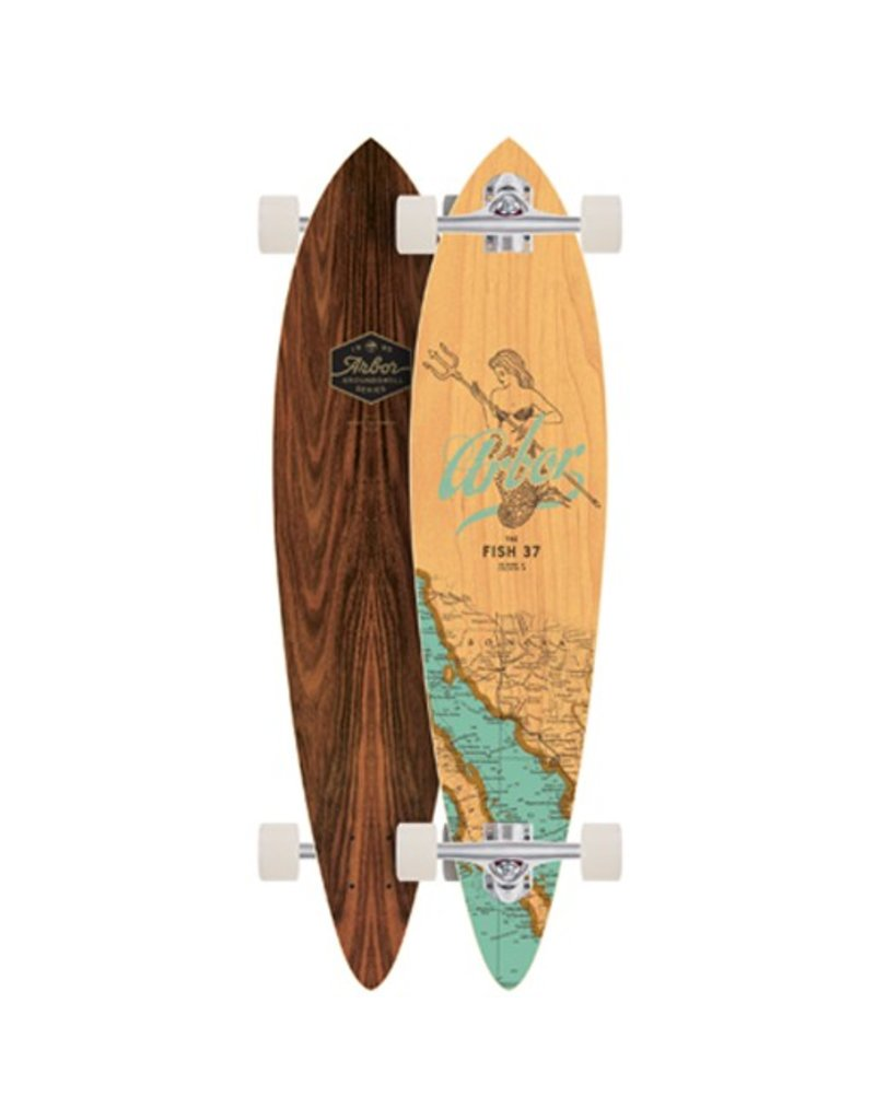Arbor Arbor- Fish- Groundswell Series- 37 inch- 2017- Completes