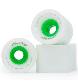Blood Orange Blood Orange- Alpine- 73mm- 78a- Green Core- Wheels
