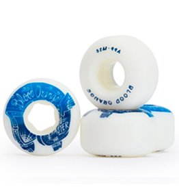 Blood Orange Blood Orange- Street Rounded- 52mm- 99a- White/Blue- Wheels