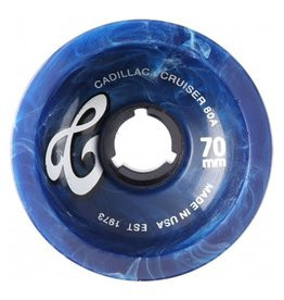 Cadillac Cadillac- Cruisers- 70mm- 80a- Blue Marble- Wheels