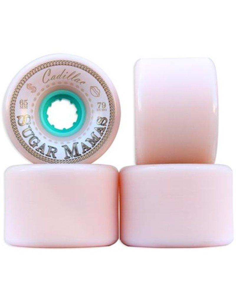 Cadillac Cadilac- Sugar Mamas- 65mm- 79a- Pink- Wheels