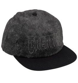 Creature Creature- Burnout- Distressed Black- Hats