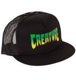 Creature Creature- Logo Mesh- Black- Hats