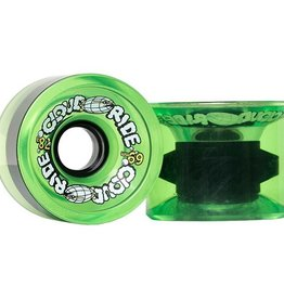 Cloud Ride Cloud Ride- Cruiser- 69mm- 78a- Translucent Neon Green- Wheels