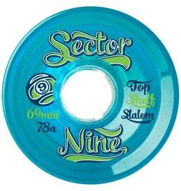 Sector 9 Sector 9- Top Shelf Slalom- 69mm- 78a- Blue- Wheels