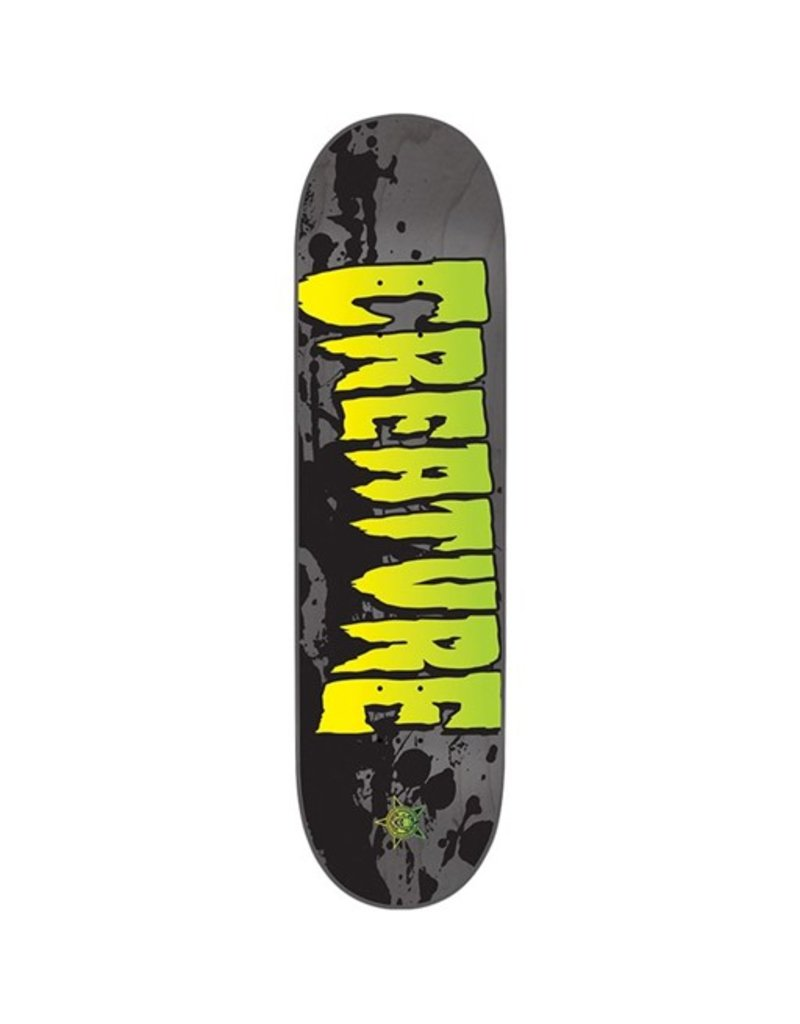 Creature Creature- Stained LG Team- Grey- 8.6in x 32.35 in- Decks